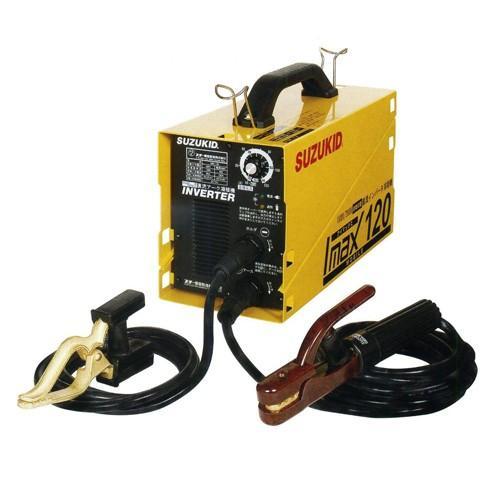 スター電器 スズキット 直流 溶接機 アイマックス120 SIM-120 持ち運びに 便利な 小型 100V / 200V 兼用 インバーター 溶接機