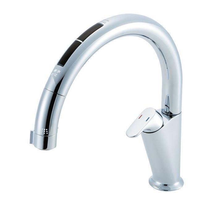 ▽◆在庫有り!台数限定!INAX  タッチレス水栓【JF-NA466SU(JW)】浄水機ビルトイン型 逆止弁 A6タイプ