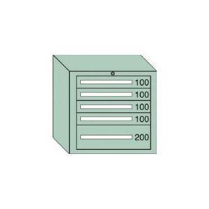 ↑#■〒大阪製罐/OS ミドルキャビネットMD型 最大積載量600kg 引出し4×1段<br>【MD607】() 受注単位1