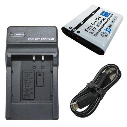 充電器セット 店内限界値引き中&セルフラッピング無料 ペンタックス PENTAX D-LI92 70%OFFアウトレット 充電器 USBタイプ 互換バッテリー
