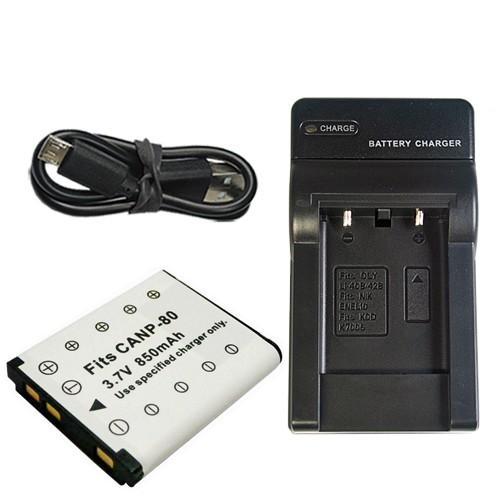 充電器セット カシオ CASIO NP-80 NP-82 出荷 USB 国内送料無料 充電器 互換バッテリー
