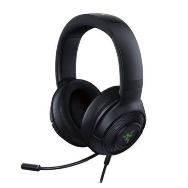 【Gaming Goods】Razer Kraken X USB / RZ04-02960100-R3M1 USB接続 PC ゲーミングヘッドセット|iiyama-pc