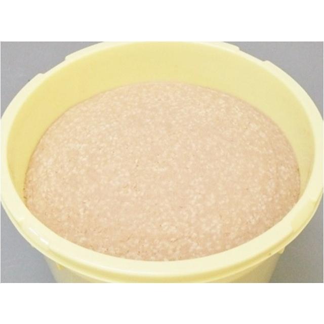 仕込み味噌 十六割糀 15kg 樽入り 無添加 新潟産米・大豆100% ikarashikoujiya 02
