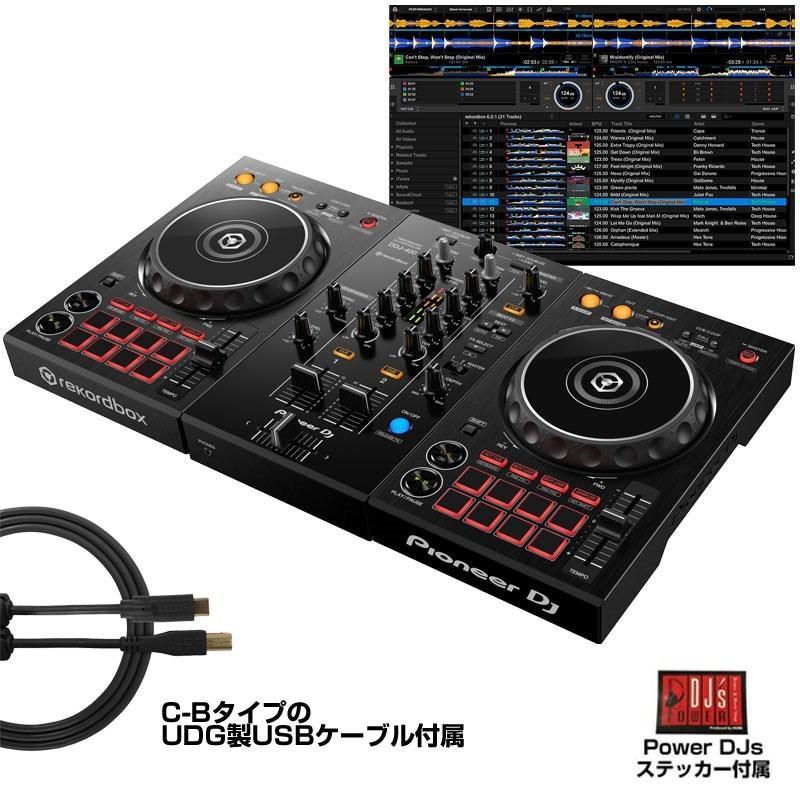 初心者にオススメPioneer DJ DDJ-400 あすつく対応 SEAL限定商品 rekordbox djライセンスキー付属 お中元 今なら選べる特典付き 初心者向け教則動画付属