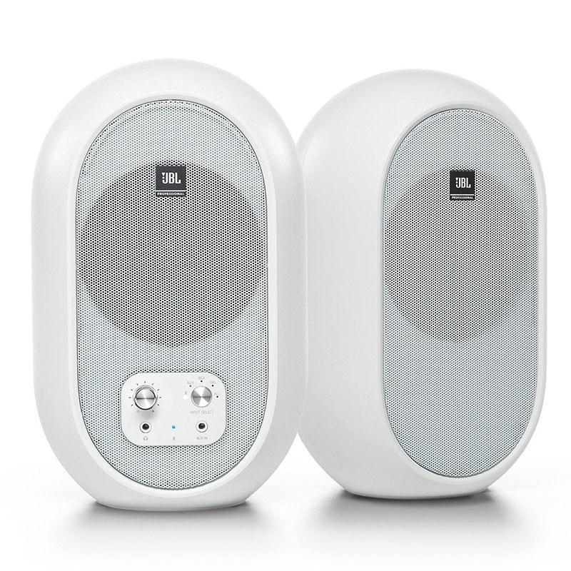 JBL 104-BTW-Y3 2本セット ホワイト メーカー3年保証付属 Bluetooth5.0対応同軸パワードモニター ショッピング RH 限定品