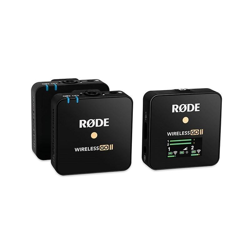 RODE Wireless GO II WIGO システム 人気ショップが最安値挑戦 デュアルチャンネル ワイヤレス マイクロホン 国内正規総代理店アイテム
