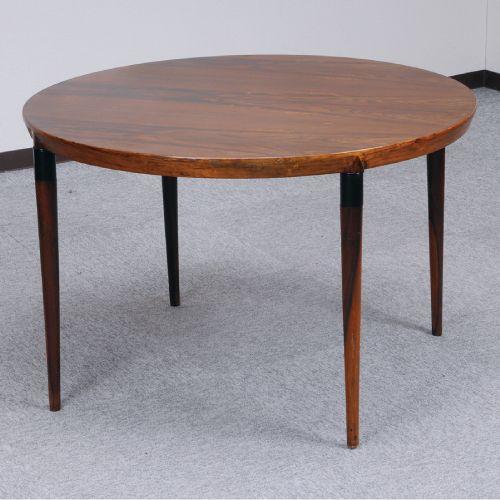 北欧デンマークのビンテージ家具 ラウンドコーヒーテーブル