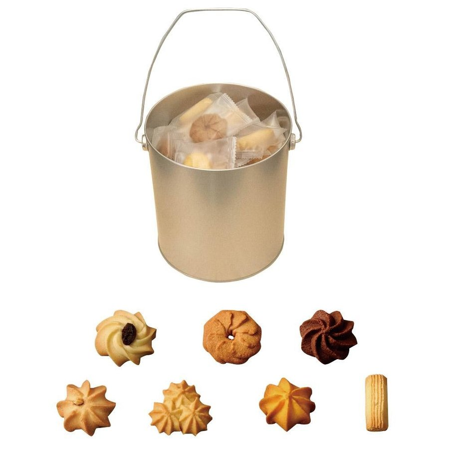 バケツ缶アラモード(クッキー) 56枚入り 個包装 代引き不可|ikelive