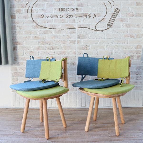 ダイニングテーブルセット 北欧風 円形 4人掛け 5点 天然木 無垢 丸テーブル おしゃれ 幅100cm ナチュラル 回転椅子 カバーリング gkw|ikikagu|07