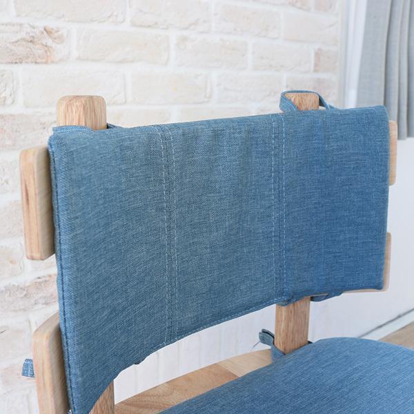 ダイニングテーブルセット 北欧風 円形 4人掛け 5点 天然木 無垢 丸テーブル おしゃれ 幅100cm ナチュラル 回転椅子 カバーリング gkw|ikikagu|09