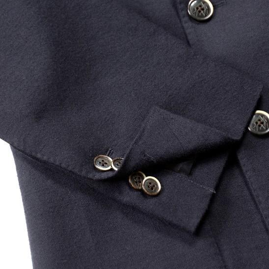 ジャケットボタン付け(本切羽仕上げ)|ikinakikonashi