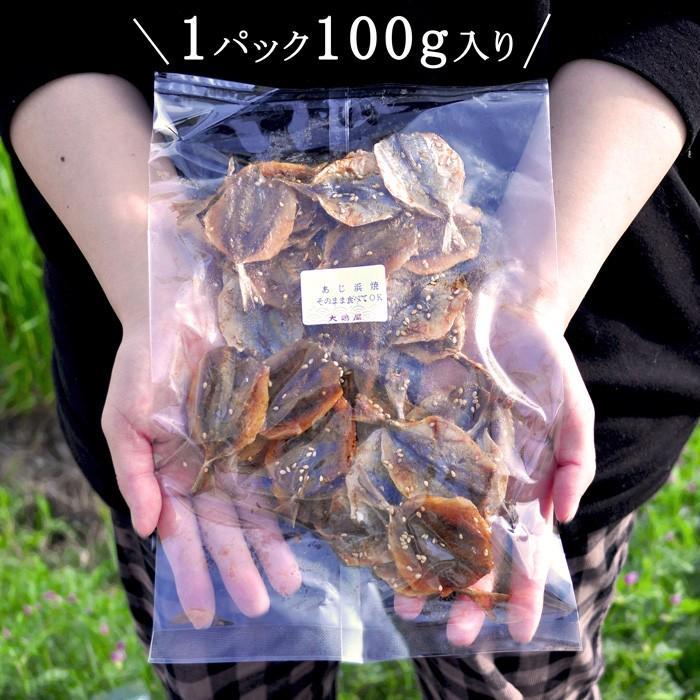 アジの浜焼き 100g 天然 小アジ おつまみ おやつ 魚 甘辛 酒の肴 ikkadanran 04