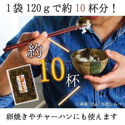 辛子明太たかな120g×2袋 福岡県産高菜100%使用 ご飯のお供にお茶漬けに 酒の肴にも  食欲の無い夏にもご飯が進む!だんらん 日曜の晩ごはん ikkadanran 04