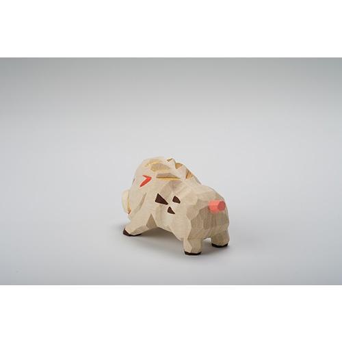 干支置物「亥」(いのしし)小サイズ/奈良一刀彫/楠/人形/猪/イノシシ/いのしし/亥|ikkisya|04