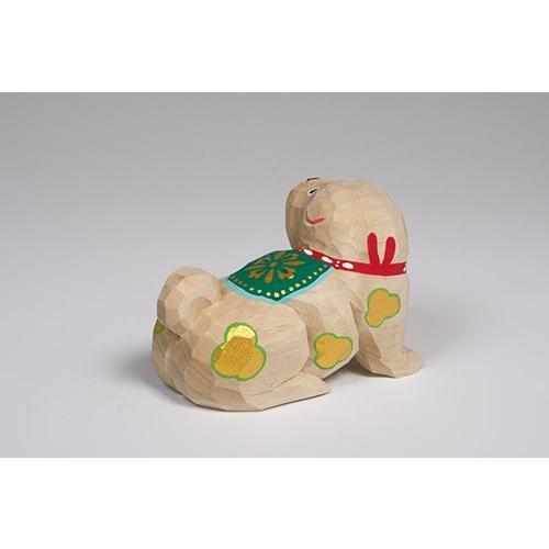 干支置物「戌」(いぬ)特大サイズ/奈良一刀彫/楠/人形/イヌ/いぬ/戌|ikkisya|04