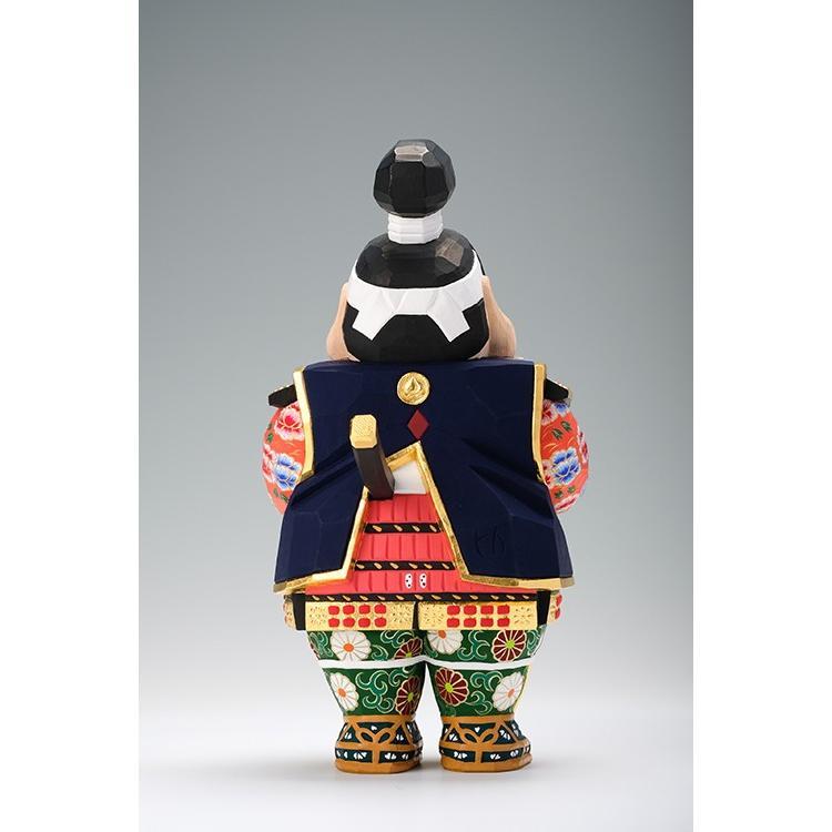 五月人形 「桃太郎」 小サイズ 桧   兜 端午の節句 飾り 兜飾り 一刀彫り おしゃれ 一刀彫 奈良 ikkisya 04