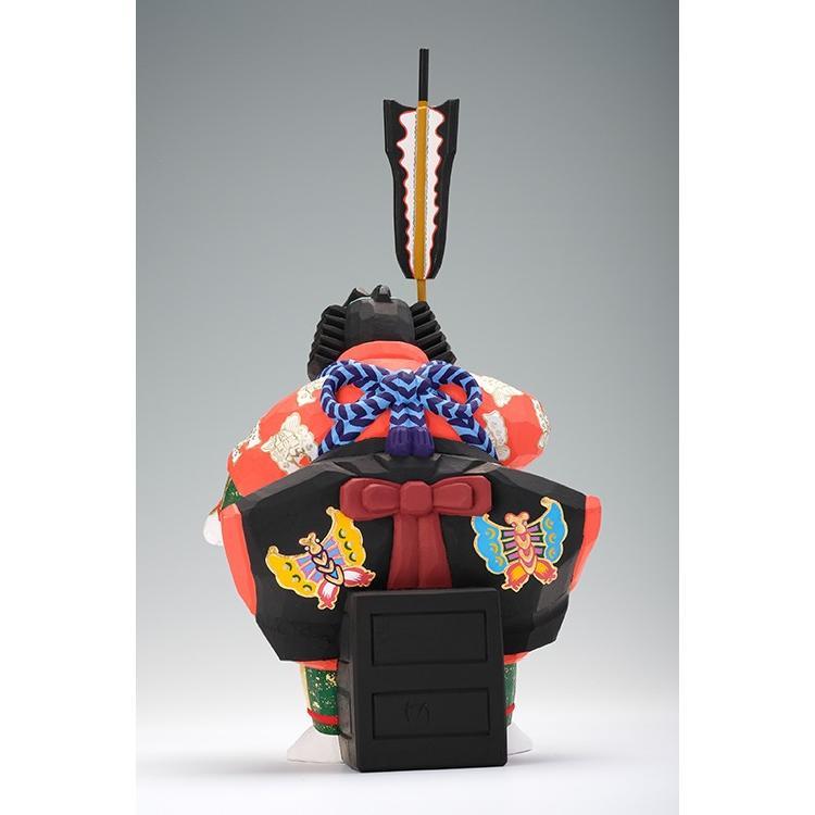 矢の根(歌舞伎)/奈良一刀彫/木彫人形/かぶき/やのね|ikkisya|05