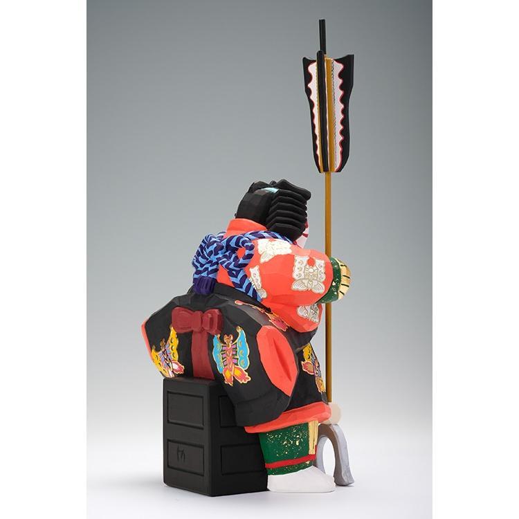 矢の根(歌舞伎)/奈良一刀彫/木彫人形/かぶき/やのね|ikkisya|06