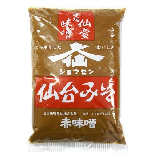仙台味噌 本場仙台みそ 袋 1kg×10入|ikkomon-marche