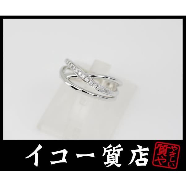 【ついに再販開始!】 Pt950 ダイヤ計0.12ct ファッションリング 12号 新品仕上げ済み 美品, シラオイグン 7e4c63ea