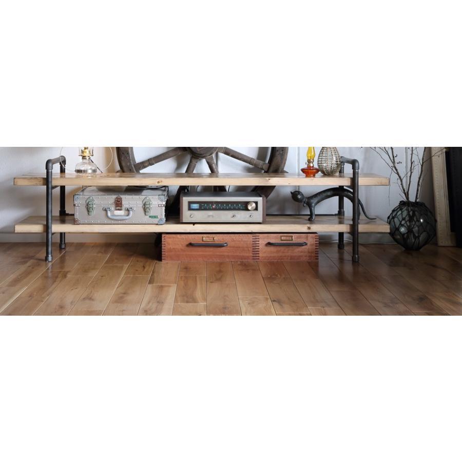 テレビボード180 ガス管フレーム 無料設置配送ikpイカピー ikp 08