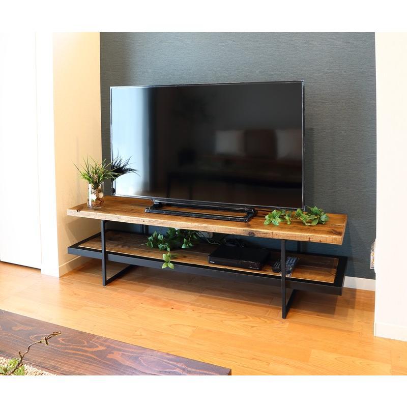 古材テレビボード150アイアン 設置配送無料 ikpイカピー ikp 12