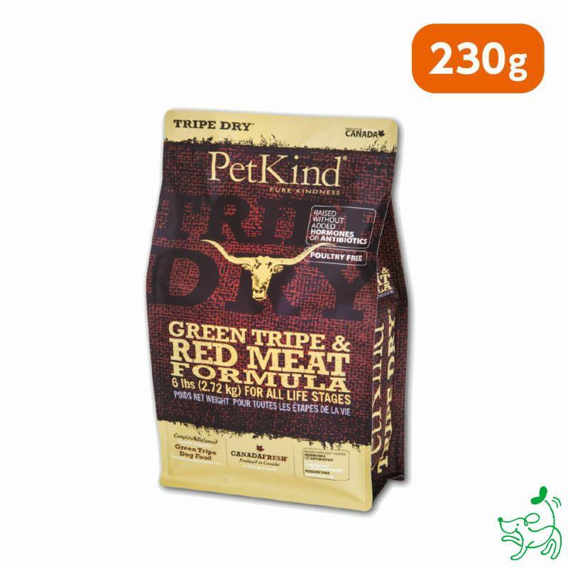 ペットカインド Pet Kind グレインフリー トライプドライGL レッドミート 230g イリオスマイル ポイント消化 iliosmile