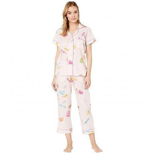 BedHead Pajamas レディース 女性用 ファッション パジャマ 寝巻き Short Sleeve Cropped Pajama Set - Sugar and Spice