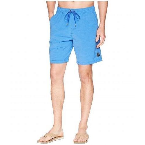 Prana プラナ メンズ 男性用 スポーツ・アウトドア用品 水着 Metric E-Waist Shorts - Island 青