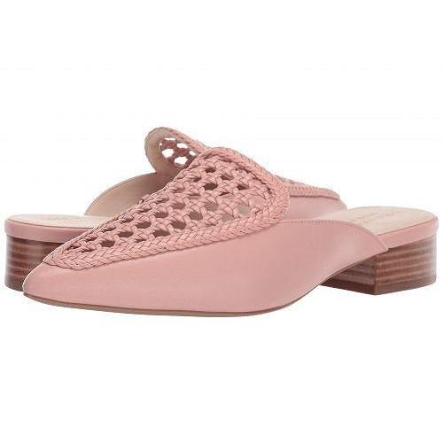 最高級 Cole 靴 Weave Haan コールハーン レディース Leather 女性用 シューズ 靴 ローファー ボートシューズ Payson Weave Mule - Mahogany Rose Weave Leather, バランタイン:a66f0b24 --- sonpurmela.online