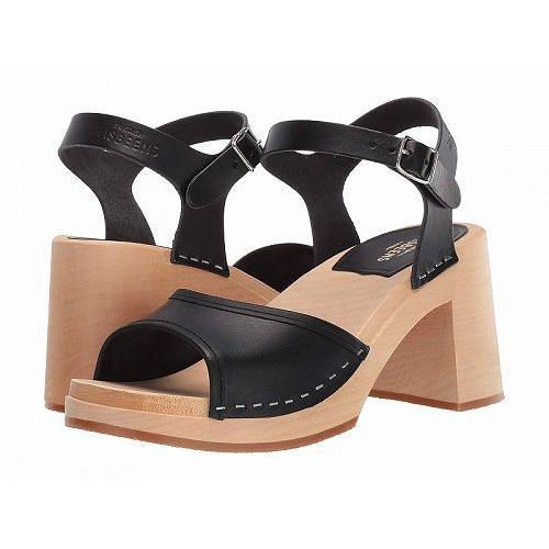 お手頃価格 Swedish Hasbeens スウェディッシュハズビーンズ レディース 女性用 シューズ 靴 ヒール Inger - Black, PX-G FACTORY 6fe42ddc