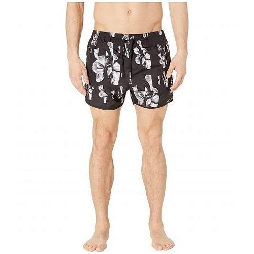 【セール】 Neil Black/White Barrett Swimsuit ネイルバレット メンズ 男性用 スポーツ 男性用・アウトドア用品 水着 Sliding Anemone Swimsuit - Black/White, 木製子供用家具直販ベビファニ:e16fb5b6 --- airmodconsu.dominiotemporario.com