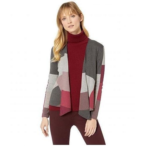 【在庫有】 NIC+ZOE ニックアンドゾー レディース 女性用 ファッション セーター Rich Color Block Cardy - Multi, はなあい 6d1d3517