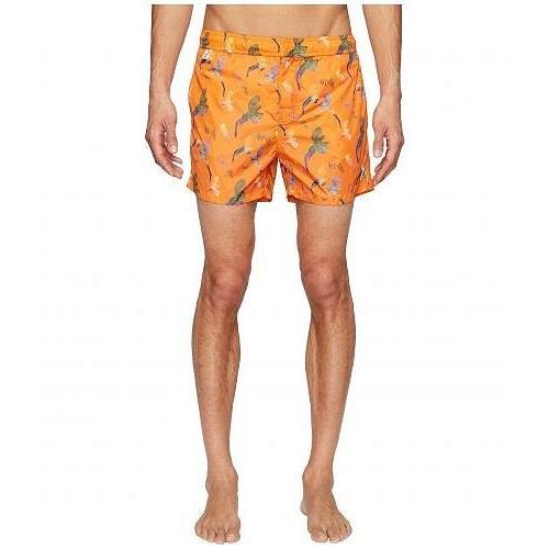 Missoni Mare メンズ 男性用 スポーツ・アウトドア用品 水着 Mare Printed Birds Nylon Swim Trunks - オレンジ