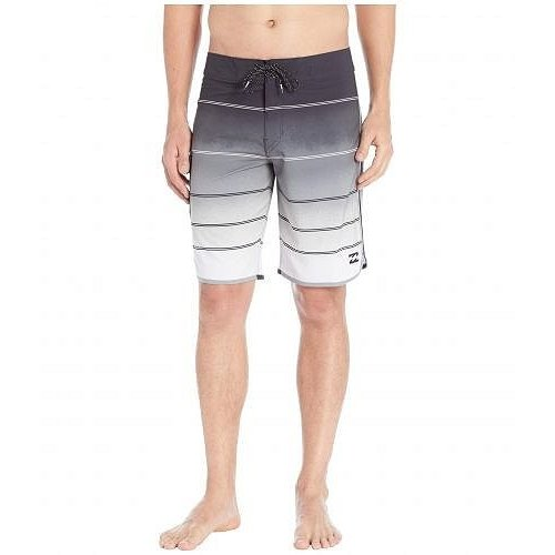Billabong ビラボン メンズ 男性用 スポーツ・アウトドア用品 水着 73 X Stripe Boardshorts - Stealth