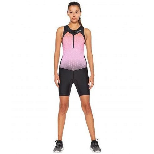2XU ツータイムズユー レディース 女性用 スポーツ・アウトドア用品 水着 ワンピース Active Trisuit - 黒/黒