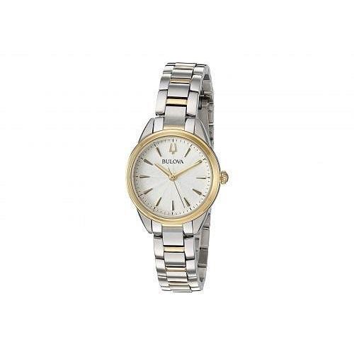 【レビューを書けば送料当店負担】 Bulova ブローバ レディース 女性用 腕時計 ウォッチ カジュアル時計 Sutton - 98L277 - Two-Tone Yellow, mokomoko神戸 85b0981b