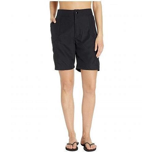 Maxine of Hollywood Swimwear レディース 女性用 スポーツ・アウトドア用品 水着 Solids Woven Long Boardshort - 黒