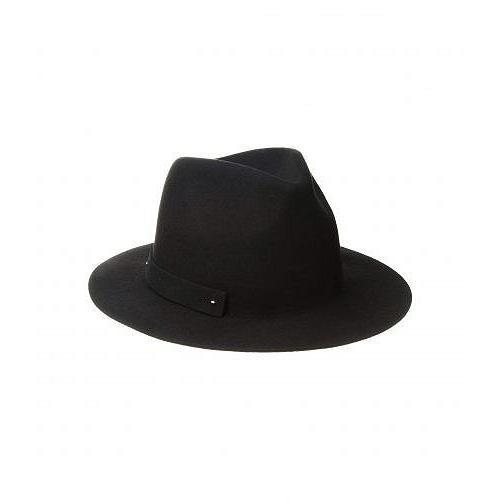 【最新入荷】 San 帽子 Diego Hat Hat Company サンディエゴハットカンパニー レディース 女性用 ファッション雑貨 - 小物 帽子 WFH8205 Packable Felt Fedora - Black, 花園村:b5a0493b --- sonpurmela.online
