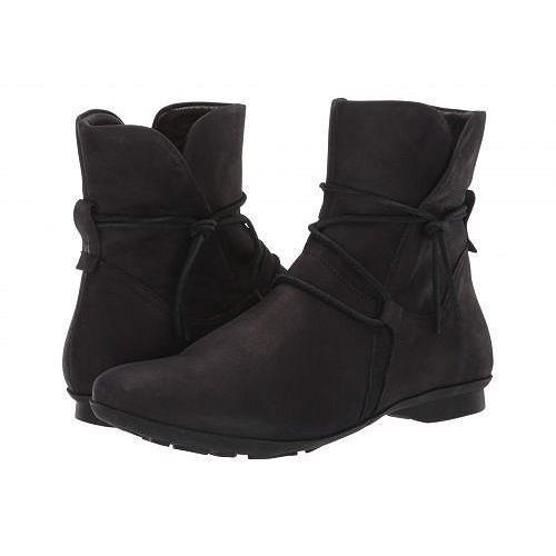 Think! シンク レディース 女性用 シューズ 靴 ブーツ アンクルブーツ ショート Keshual Ankle Boot - 85127 - 黒