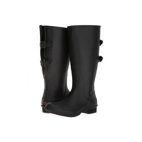 【即日発送】 Chooka チョーカ レディース 女性用 シューズ 靴 ブーツ レインブーツ Versa Wide Calf Tall Boot - Black, clink e748a9b6