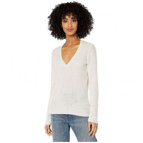 【内祝い】 Vince Vince ヴィンス レディース 女性用 ファッション セーター Mini Cable Cable セーター V-Neck - White, 鹿町町:df138e5c --- fresh-beauty.com.au
