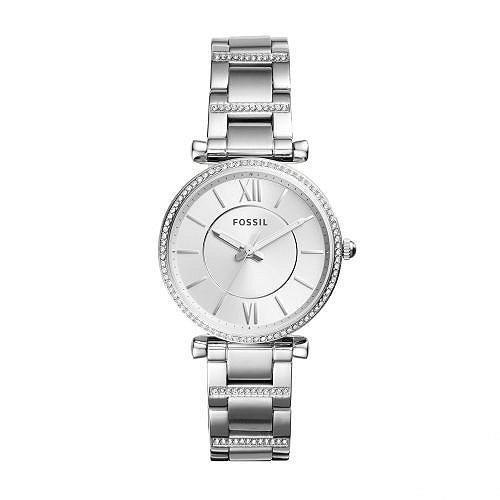 特別価格 Fossil フォッシル レディース 女性用 腕時計 ウォッチ ファッション時計 Carlie - ES4341 - Silver, さんちゃん ふぁくとりー c4368699