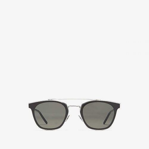 【超目玉枠】 Saint Laurent セイントローレン メンズ 男性用 メガネ 28 眼鏡 サングラス - SL メガネ 28 Metal - Silver/Grey, キヨスチョウ:728a3f75 --- grafis.com.tr