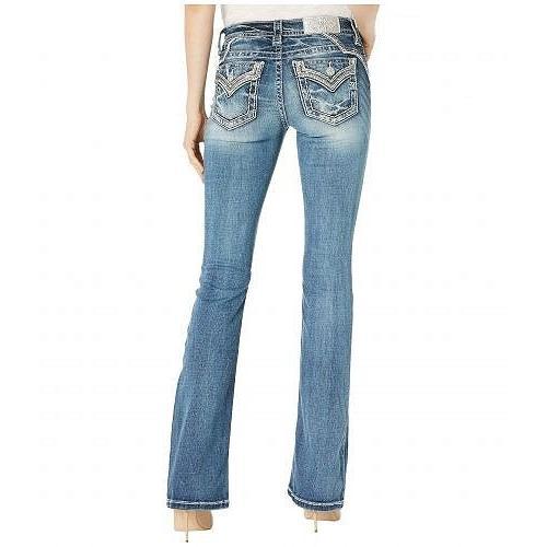 高速配送 Miss Me ミスミー レディース 女性用 Jeans ファッション ファッション ジーンズ 女性用 デニム Embellished Yoke Chloe Bootcut Jeans in Dark Blue - Dark Blue, 激安輸入雑貨店:36cc1aec --- chizeng.com