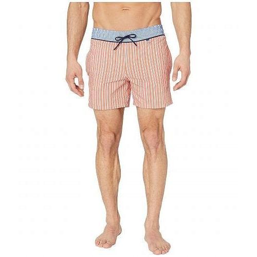 HOM メンズ 男性用 スポーツ・アウトドア用品 水着 Preppy Beach Boxer - オレンジ