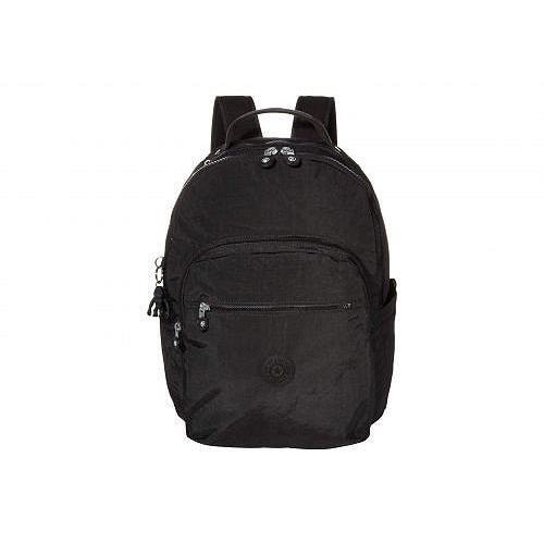 豪華 Kipling キプリング レディース Seoul 女性用 Laptop バッグ 鞄 バックパック リュック キプリング Seoul Laptop Backpack - Black Noir, 紫雲寺町:95986c23 --- fresh-beauty.com.au