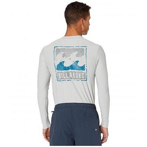 Billabong ビラボン メンズ 男性用 スポーツ・アウトドア用品 水着 ラッシュガード スイムシャツ Psycho Wave Loose Fit Long Sleeve - Cement