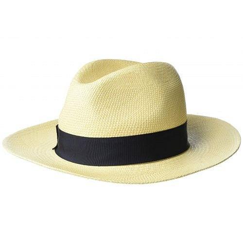 週間売れ筋 Hat Attack ハットアタック レディース 女性用 ファッション雑貨 小物 帽子 Panama Continental - Natural/Navy, JEUGIA ONLINE STORE 60a26417