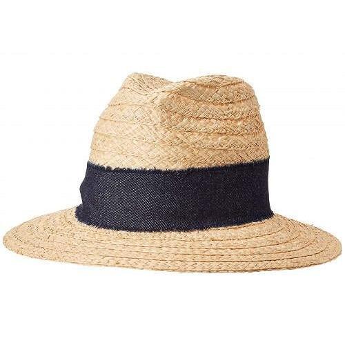 【お1人様1点限り】 Hat Attack ハットアタック レディース 女性用 ファッション雑貨 小物 帽子 サンハット Jeans Hat - Natural/Denim, サシマグン 7ca0d280